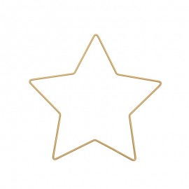 Rico Design Star metal - gold