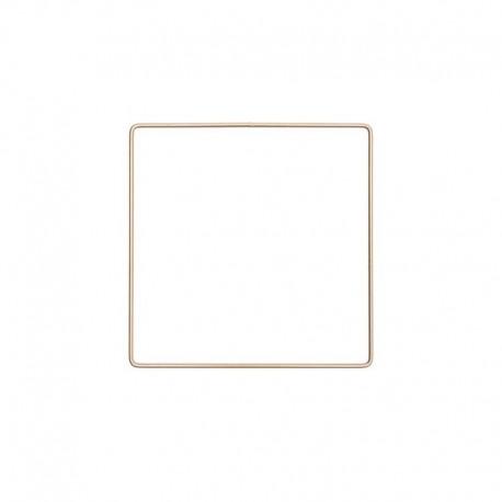 Rico Design metal square - gold