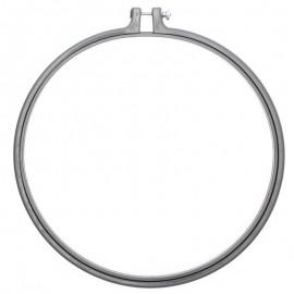 Cadre tambour à broder 25,4 cm Rico Design - Gris