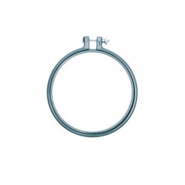 12,7 cm Rico Design Wooden embroidery hoop - grey green
