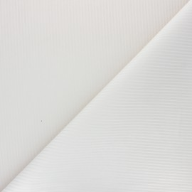 Thevenon ribbed velvet fabric - raw x 10cm