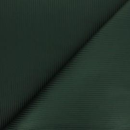 Tissu velours côtelé Thevenon - vert sapin x 10cm