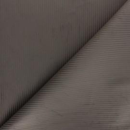 Tissu velours côtelé Thevenon - taupe x 10cm
