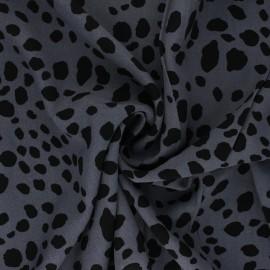 Jelani viscose fabric - slate grey x 10cm