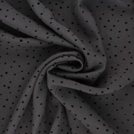 Viscose Fabric - chestnut Mini Jelani x 10cm