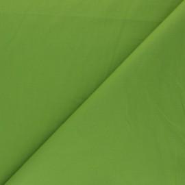 Tissu Popeline - Vert tendre x10 cm