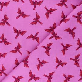 Cotton Dashwood Studio fabric - bird x 10cm