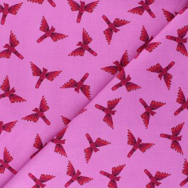 Tissu coton Dashwood Studio Night Jungle - Oiseau x 10cm