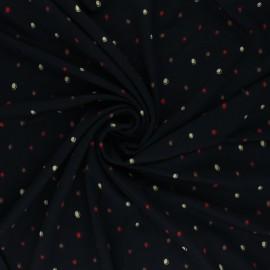 Elastane Viscose Fabric - Juliana - Black x 10cm