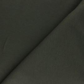Sweat Viscose Fabric - Cozy - Khaki Green x 10 cm