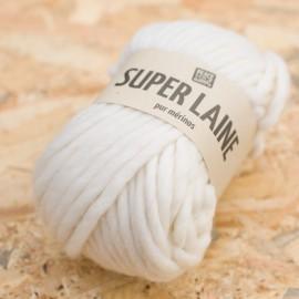 Super Laine 100% mérinos - Milk