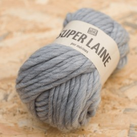 Super Laine 100% mérinos - Bois flotté