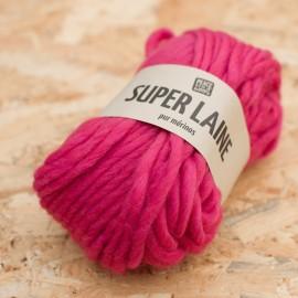 Super Laine 100% mérinos - Litchi