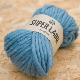 Super Laine 100% mérinos - Sky is blue