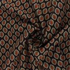 Tissu polyester élasthanne Inaya - gris x 10cm