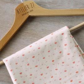 Atelier 27 Cotton Twill Fabric - nude pink Zoi x 10cm