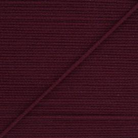 Elastique masque Colorama 2,5 mm - Bordeaux