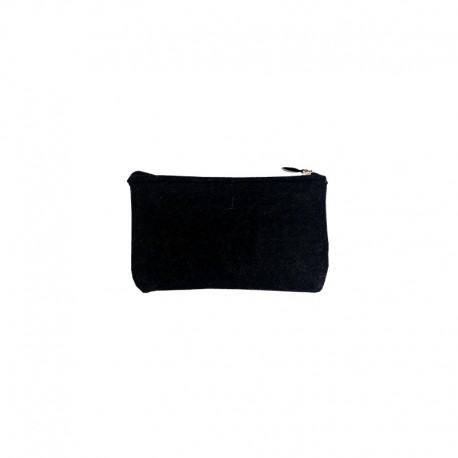 Felt Wallet to Customize - Black