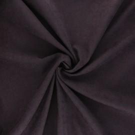 Tissu Doublure aspect suédine Alphée - améthyste x 10cm