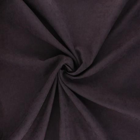 Suede-like lining fabric - amethyst Alphée x 10cm