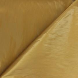 Shiny crinkle vinyl fabric  - ochre Nalina x 10cm
