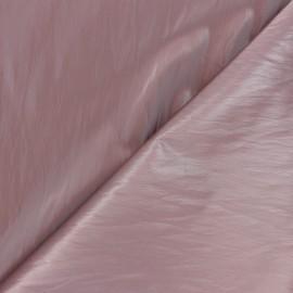 Tissu vinyl froissé brillant Nalina - rose x 10cm