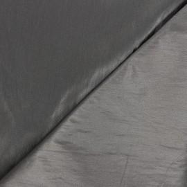Shiny crinkle vinyl fabric  - taupe Nalina x 10cm