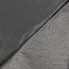 Tissu vinyl froissé brillant Nalina - taupe x 10cm