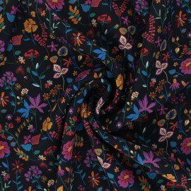 Liberty Silk fabric - Botanist's Diary A x 10cm