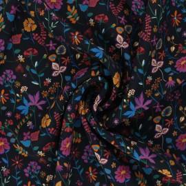 Tissu Soie Liberty - Botanist's Diary A x 10cm