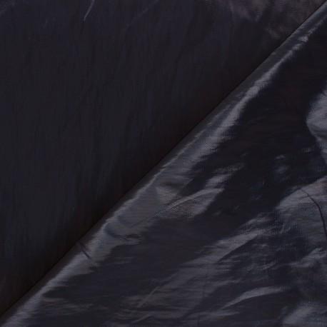 Tissu vinyl froissé brillant Nalina - améthyste x 10cm
