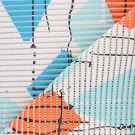 Tapis mousse PVC anti-dérapant Cerf-volant - blanc x 10cm