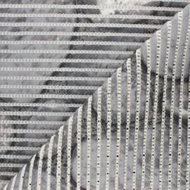Non-slip PVC mat - grey Galet x 10cm