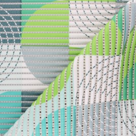 Non-slip PVC mat - green Psyche x 10cm