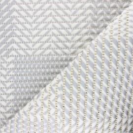 Tapis mousse PVC anti-dérapant Sillon - argent x 10cm