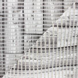 Tapis mousse PVC anti-dérapant Bois - gris x 10cm