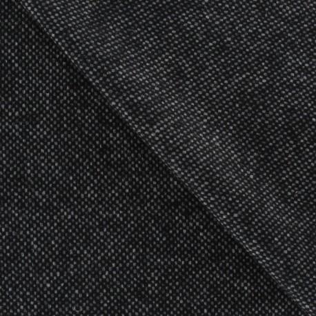 tissu drap de laine noir chin x 10cm ma petite mercerie. Black Bedroom Furniture Sets. Home Design Ideas