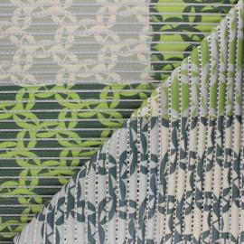 Tapis mousse PVC anti-dérapant Malorie - vert x 10cm