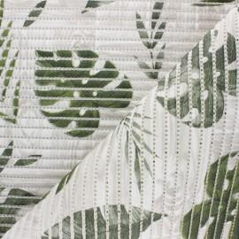 Non-slip PVC mat - green Philodendron x 10cm