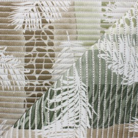 Non-slip PVC mat - green Subtropical x 10cm