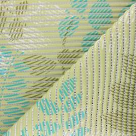 Tapis mousse PVC anti-dérapant Feuillage - vert x 10cm