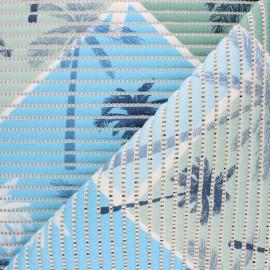 Non-slip PVC mat - blue Florida x 10cm