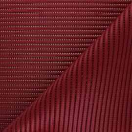 Plain non-slip PVC mat - burgundy x 10cm