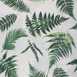 Tissu polycoton enduit mat Idara - écru x 10cm