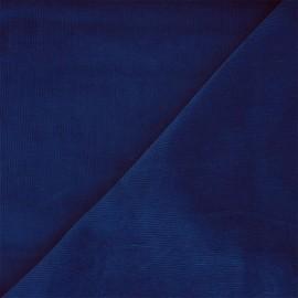 Washed milleraies velvet fabric - royal blue Infinité x 10cm