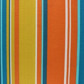 Tissu polycoton enduit mat Donosti - orange x 10cm