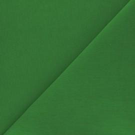 Washed milleraies velvet fabric - grass green Infinité x 10cm