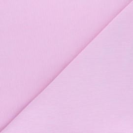 Tissu velours milleraies washé Infinité - rose dragée x 10cm