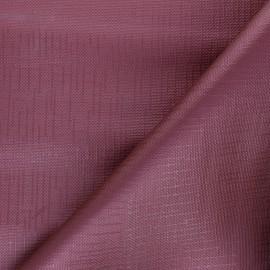 Tissu toile cirée Matex Vision - bordeaux x 10cm