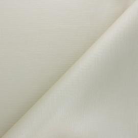 Tissu toile cirée Matex Vision - beige x 10cm